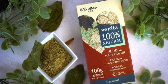 Farba Pure Henna do koloryzacji siwych włosów.