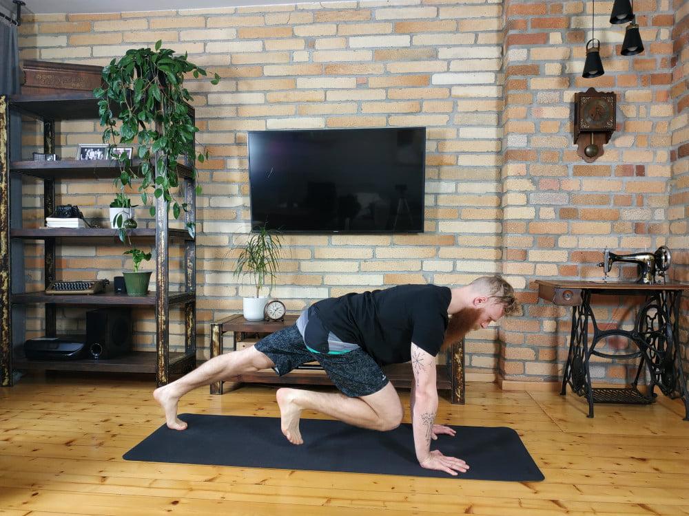 Tabata Killer - zestaw ćwiczeń tabata na brzuch.