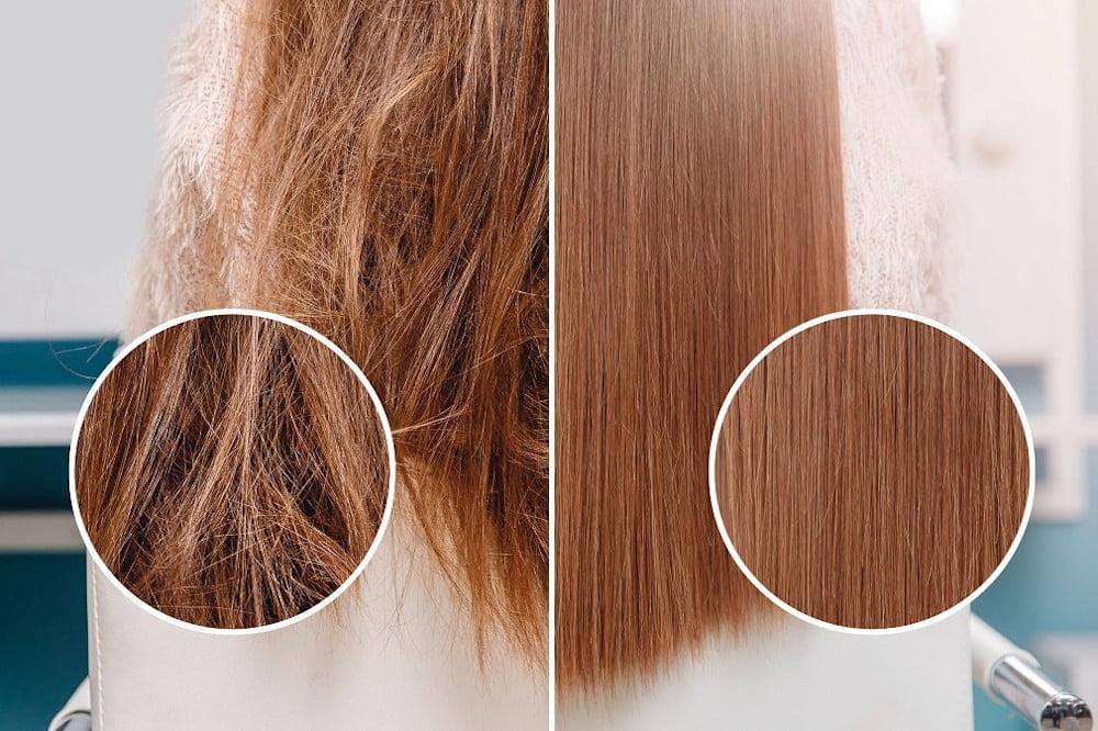 Prostownica INOAR dla idealnie prostych włosów.