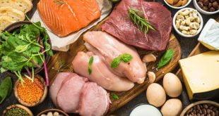 Źródła białka w pożywieniu.