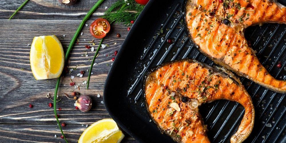 Przepis na rybę z grilla.