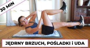 Ćwiczenia na brzuch, pośladki i uda.