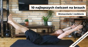 Ćwiczenia na brzuch i boczki - 10 pomysłów na trening brzucha w domu.