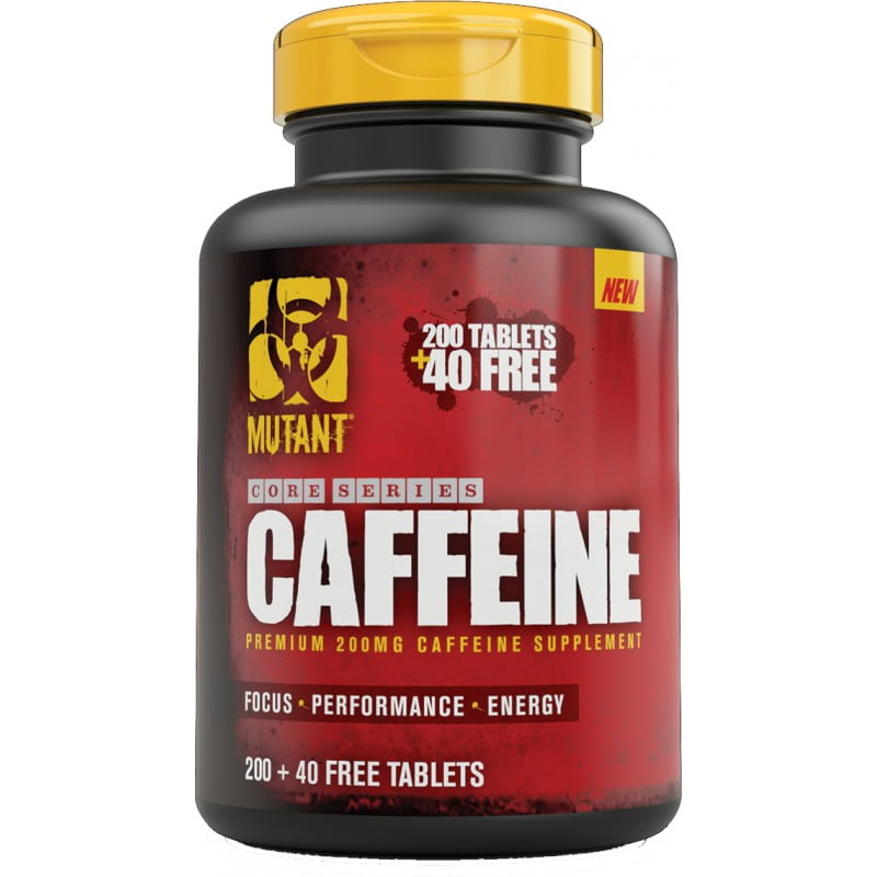 Suplement diety z kofeiną.